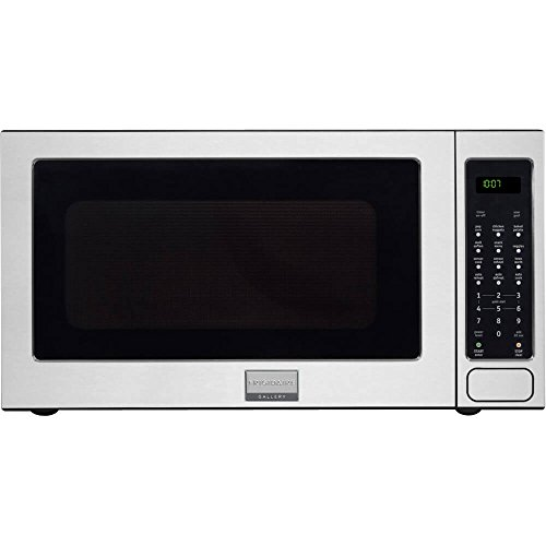 "Frigidaire FGMO205KF Gallery Series 24"" 2.0 cu. ft. Capacity Built-In Microwave Oven 1200 Watts 3 Auto Cook Options Sensor Cook 7 User Preference Options and One-Touch Options in Stainless from Frigidaire"