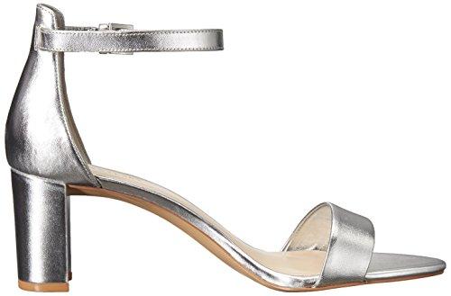 Occidentali Argento Pruce Vernice Delle Sandalo Sintetico Vestito Nove Nera Donne S7Yq01vYw