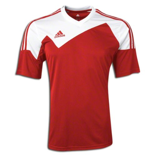 - Adidas Toque 13 Mens Short Sleeve Jersey M Power Red-White