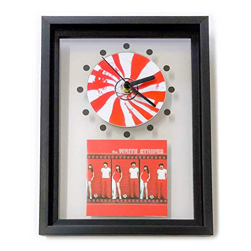 THE WHITE STRIPES - Framed CD Art Clock/Exclusive ()