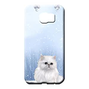samsung galaxy s6 edge Proof Hard Pretty phone Cases Covers phone carrying skins winters cat