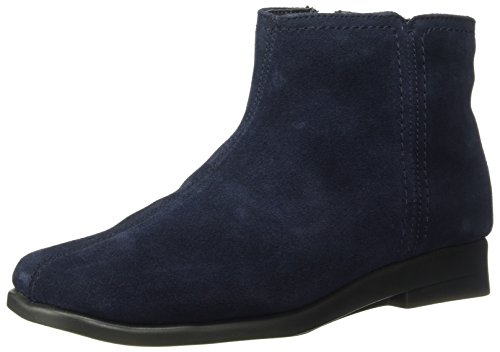 Ankle Navy Aerosoles 2 Double Bootie Women's Trouble Suede ZvWcIaTc