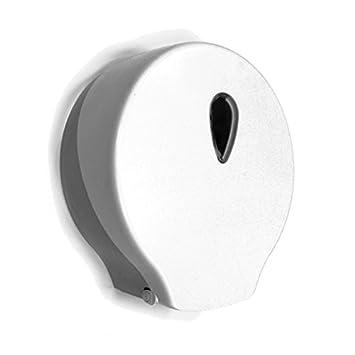 Portarrollos de Papel Higiénico Industrial para Rollos de 45 mm diámetro Jade, Fabricado en Termoplástico ABS antiestático San. con Llave de Seguridad, ...