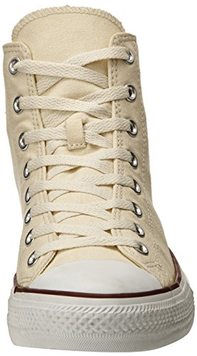 Sneakers Taylor Star and Style High Color White Unisex Classic Canvas Converse and Natural Durable in All Chuck Uppers Top Casual 7EP8nqWI