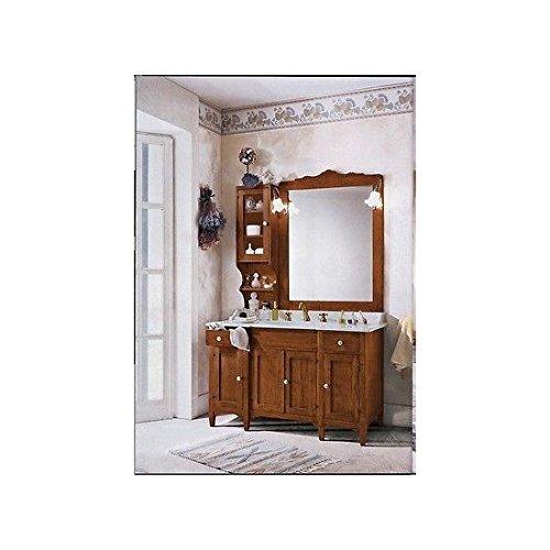 Mobile Bad Möbel Holz Massiv Arte Povera Klassisch Mit Spiegel