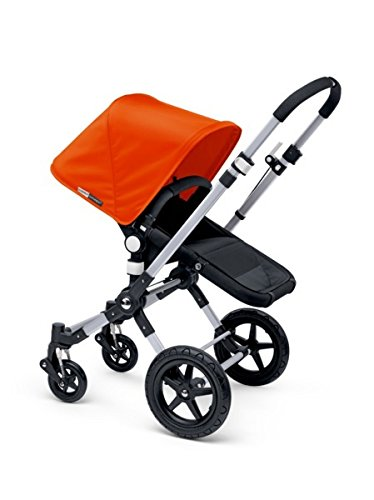 Bugaboo 2015 Cameleon3 Stroller Complete Set in Aluminum and Black