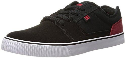 DC Mens Tonik Skate Shoe, Negro/Rojo/Blanco, 42 EU/8 UK