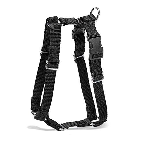 Premier Pet Pet Sure Fit 3/8-Inch Petite Harness, Black