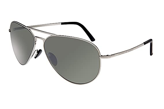 6a1d32383f7c Porsche Designs Sunglasses P8508 C Palladium Olive with Silver Mirror 60 12  140