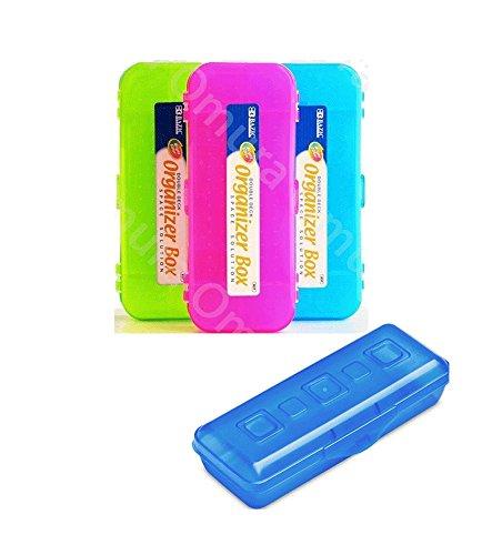 Pack of 4 Mini Pencil Box 8