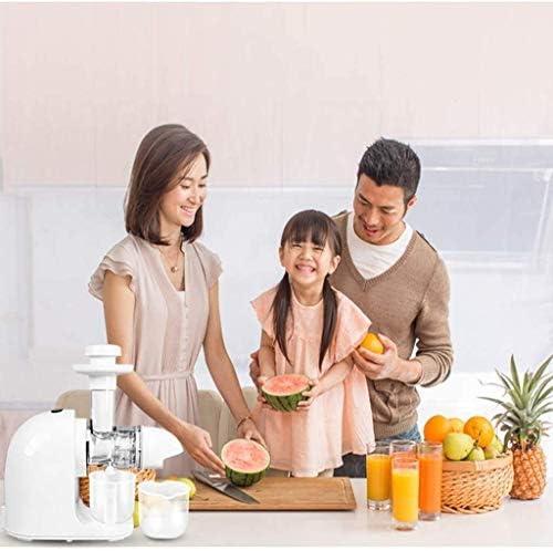 Exprimidores Jugo de Naranja Función Extractor Lenta de mascar Alimentación Completa Lenta de mascar Cold Press inversa for Asegúrese de Jugo Fresco máximo XMJ