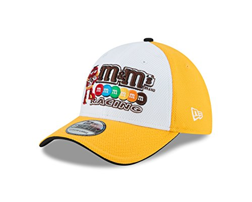 nascar-kyle-busch-2016-kids-39thirty-stretch-fit-drivers-cap-white-yellow-child-youth