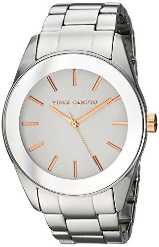 Vince Camuto Women's VC/5343SVRT Silver-Tone Bracelet Watch