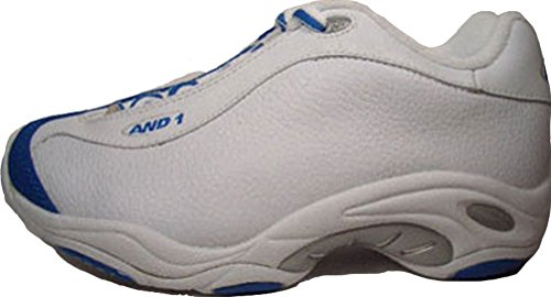 And 1 Tai Chi Low 17382 Blanco de color azul tamaño euro 38,5/US 6/UK 5,5/24 cm
