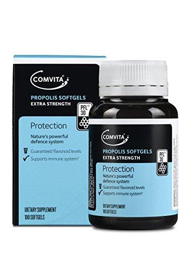 Comvita Propolis Soft Gel Capsules PFL™ 30, 100ct I Natural Immune Support
