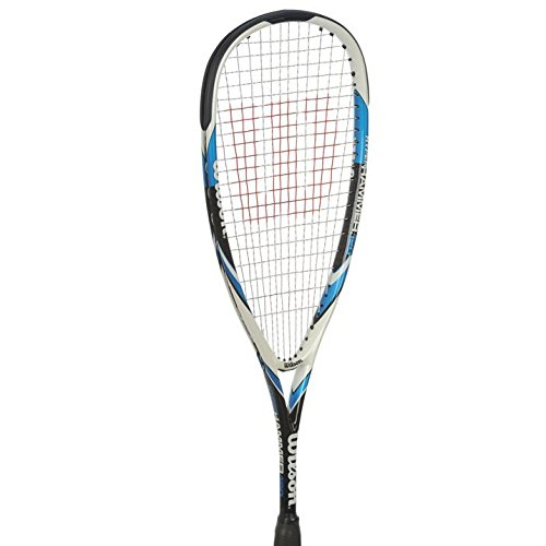 Wilson Hyper Hammer 120 Squash Racket[Blue/Grey]