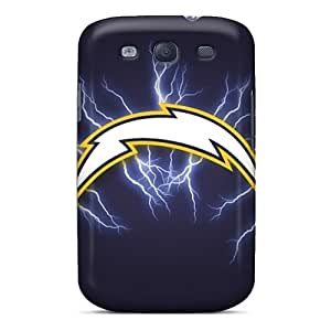 Hot Fashion KKu27987FfbL Design Cases Covers For Galaxy S3 Protective Cases (san Diego Chargers) Black Friday