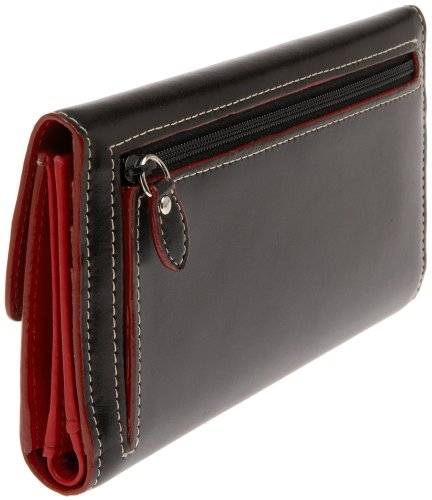 Lodis Audrey Checkbook Clutch,Black,One Size
