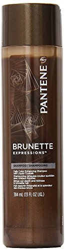 Pantene Pro-V Brunette Expressions Shampoo, Daily Color Enhancing, 13 oz. (Brunettes Daily Shampoo)