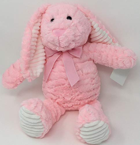 (HomeLove Plush Bunny Rabbit with Bow (Pink))