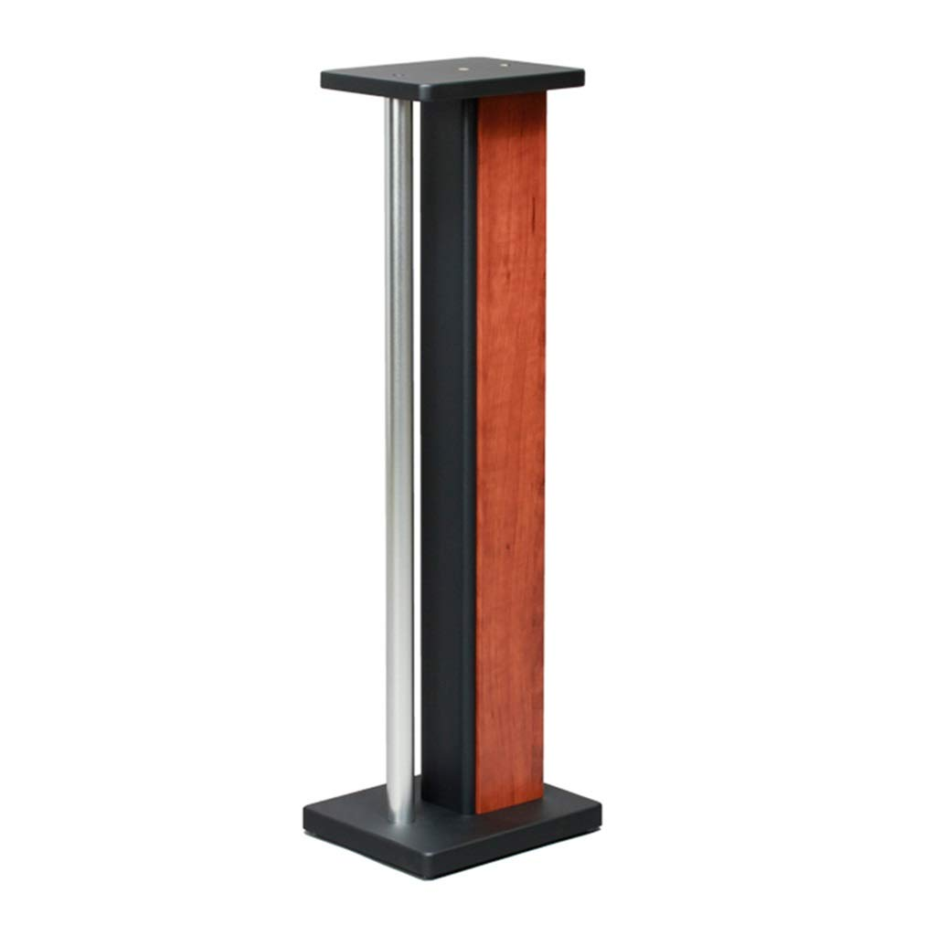 Speaker Stands Bookshelf Monitor Stands Audio Stand Living Room Flower Stand Home Theater Surround Shelf Height 85cm Home Theatre (Color : Wood Color, Size : 282385cm) by Speaker Stands