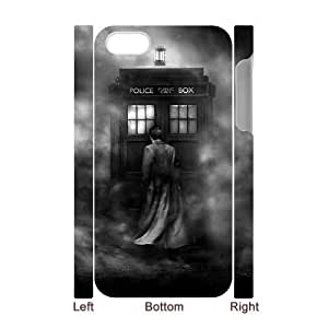 Doctor Who Custom 3D Case for Iphone 4,4S, 3D Personalized Doctor Who Case