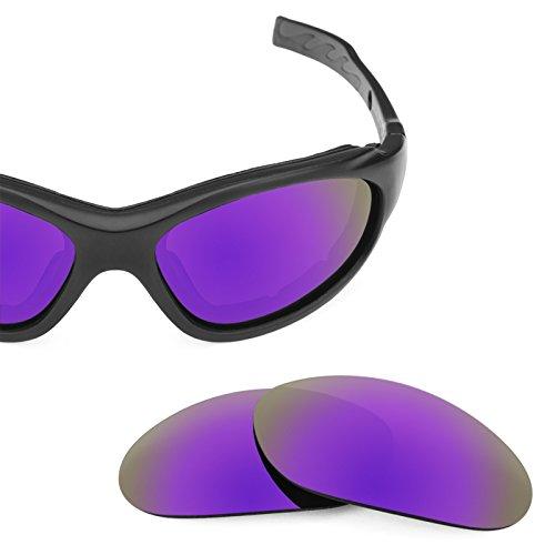 Polarizados Opciones repuesto Wiley X Advanced Plasma XL para de Mirrorshield Lentes — Púrpura 1 múltiples F6wzxqnC5