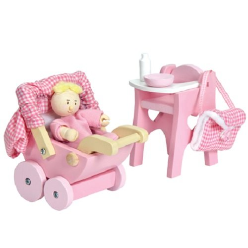 Le Toy Van Dollhouse Furniture & Accessories, Nursery - Nursery Plan Toys