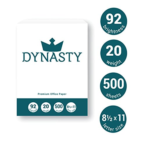 Dynasty Copy Paper, White Paper, 8.5 x 11, Letter, 92 Bright, 10 Reams - Diversity Product, MBE Certified (200550C) by DYNASTY (Image #2)