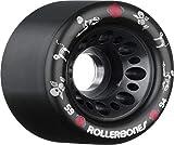 RollerBones Day of The Dead Pet Derby Skating Wheels Black 92A