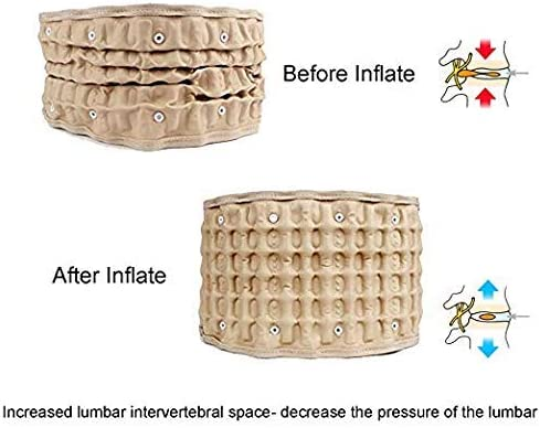 腰椎脊髄減圧ブレース減圧バックベルト腰の痛みを軽減する簡単に使用