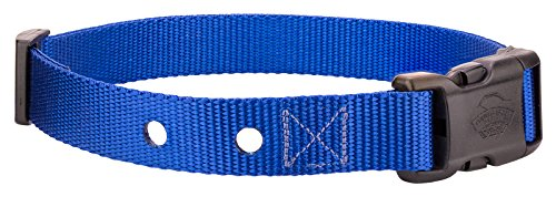 Country Brook Design Nylon Replacement Collar for Dog Fence Receiver-Royal Blue