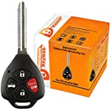 Discount Keyless Replacement Uncut Car Remote Fob Ignition Key For Toyota Camry HYQ12BBY