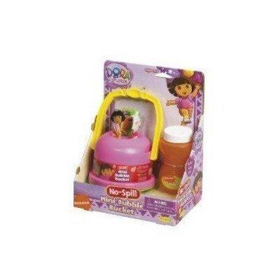 Dora the Explorer No Spill Mini Bubble Bucket by Little Kids - Mini Bubble Bucket