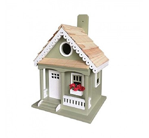 Gingerbread Birdhouse - Cottage Bird Gingerbread House