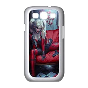 Chinese Harley Quinn Customized Case for Samsung Galaxy S3 I9300,diy Chinese Harley Quinn Phone Case