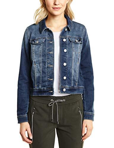 Veste En Femme mid Street Blau Jean One Washed Blue 11770 OAq7n76f