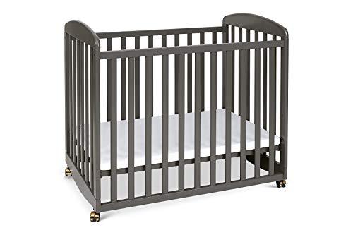 DaVinci Alpha Mini Rocking Crib, Slate