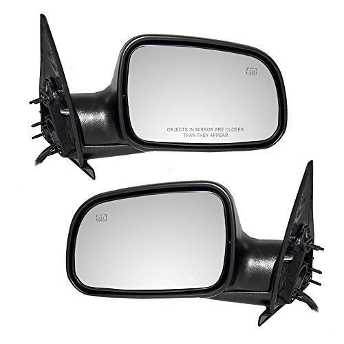 Driver and Passenger Power Side View Mirrors Heated with 8