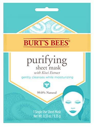 Burt's Bees Purifying Sheet Mask With Kiwi Extract Mask, 0.33 Ounce