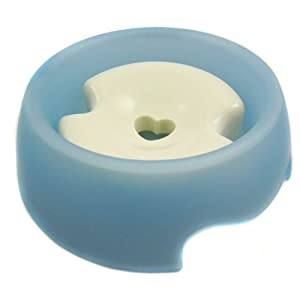 Alfie Pet by Petoga Couture - Slow-Down Pet Water Bowl (for Dogs & Cats) - Color: Blue