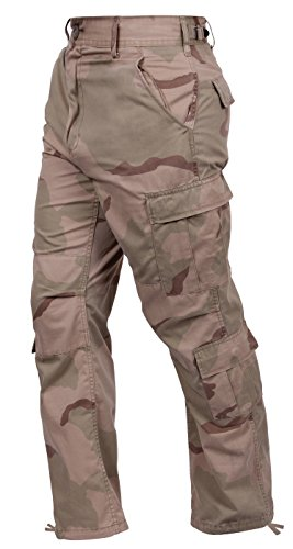(Rothco BDU Pant Tri-Color Desert, Medium)