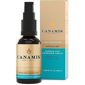 CANAMIS CBD Eczema & Psoriasis Cream – F...