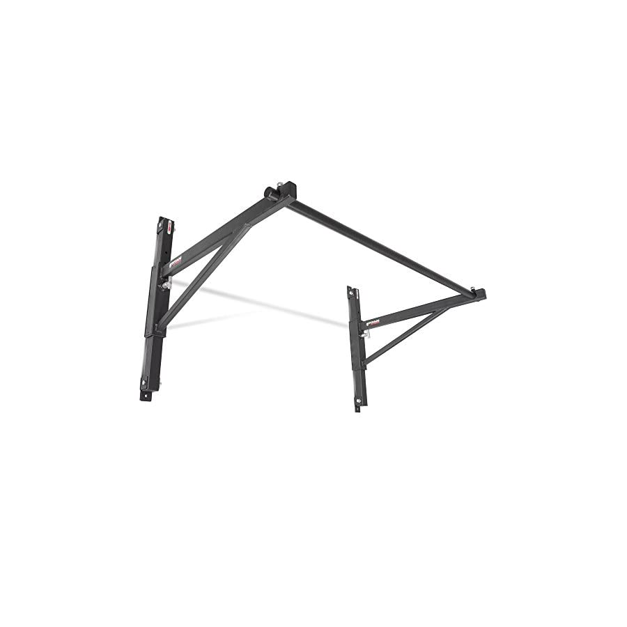 Titan Fitness Adjustable Height Wall Mounted Pull Up Bar Chin Strength Training