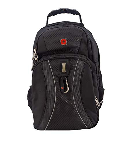 SWISSGEAR 1270 TSA friendly Scansmart Laptop Backpack School Work and Travel/Black