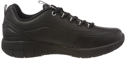 Synergy 0 para Black 2 Mujer Negro Skechers Zapatillas AwUSqSO