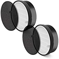 LEVOIT LV-H132 (2 Pack), True HEPA and Activated Carbon...