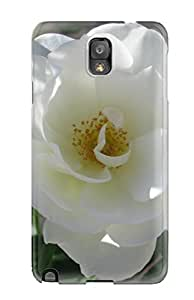 Megan S Deitz's Shop New Style New Premium Case Cover For Galaxy Note 3/ White Flowers Protective Case Cover 2160815K82579150