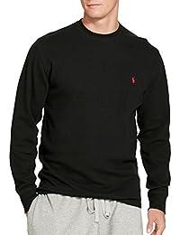 Men's Waffle Knit Crew Neck Shirt