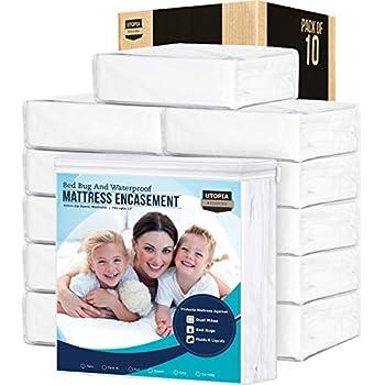 Amazon Com Utopia Bedding Zippered Twin Xl Mattress Encasement Waterproof Mattress Protector